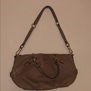 Coach hand bag with shoulder strap
